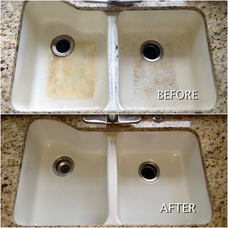 Sink Resurfacing For The Same Reasons People Call Us About Bathtubs They Also Often Call About Their Kitchen Sinks And Kitchen Sink Sink Kitchen Sink Refinish