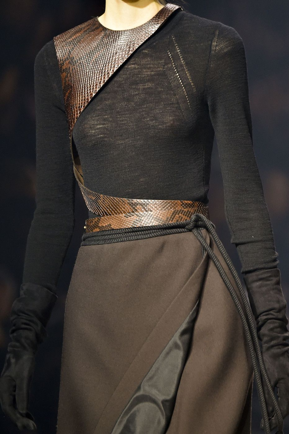 Lanvin at Paris Fashion Week Fall 2015