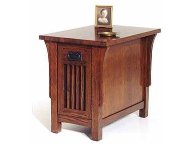 Shop For A A Laun Furniture Arts And Crafts Chairside Table, 8406 12, And