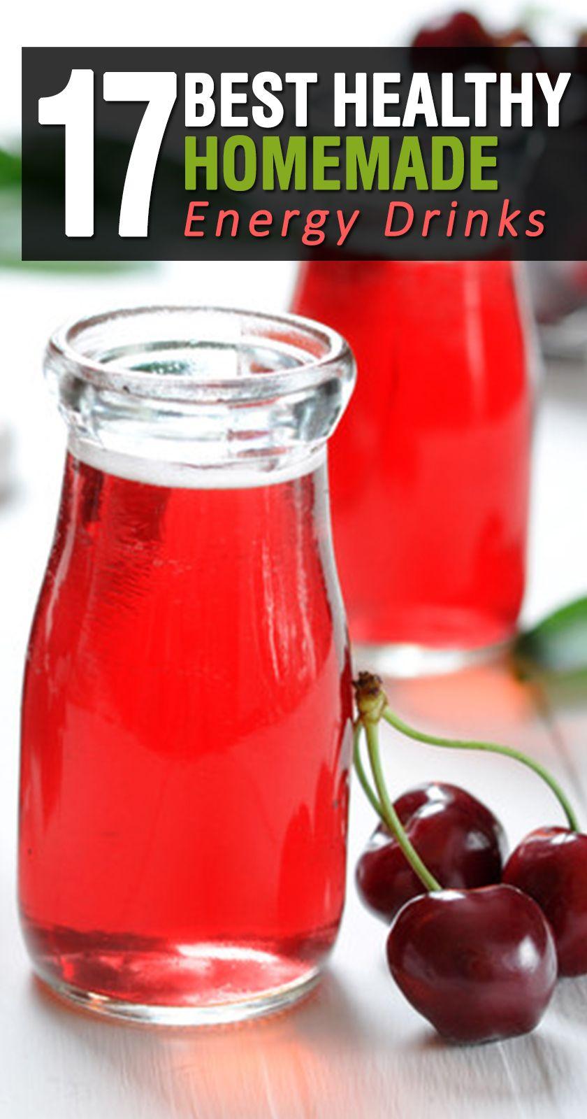 17 easy healthy homemade energy drinks feel the