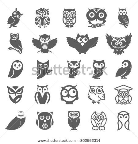 Owl Stock Photos Images Pictures Shutterstock Tiny Owl Tattoo Owl Tattoo Owls Drawing