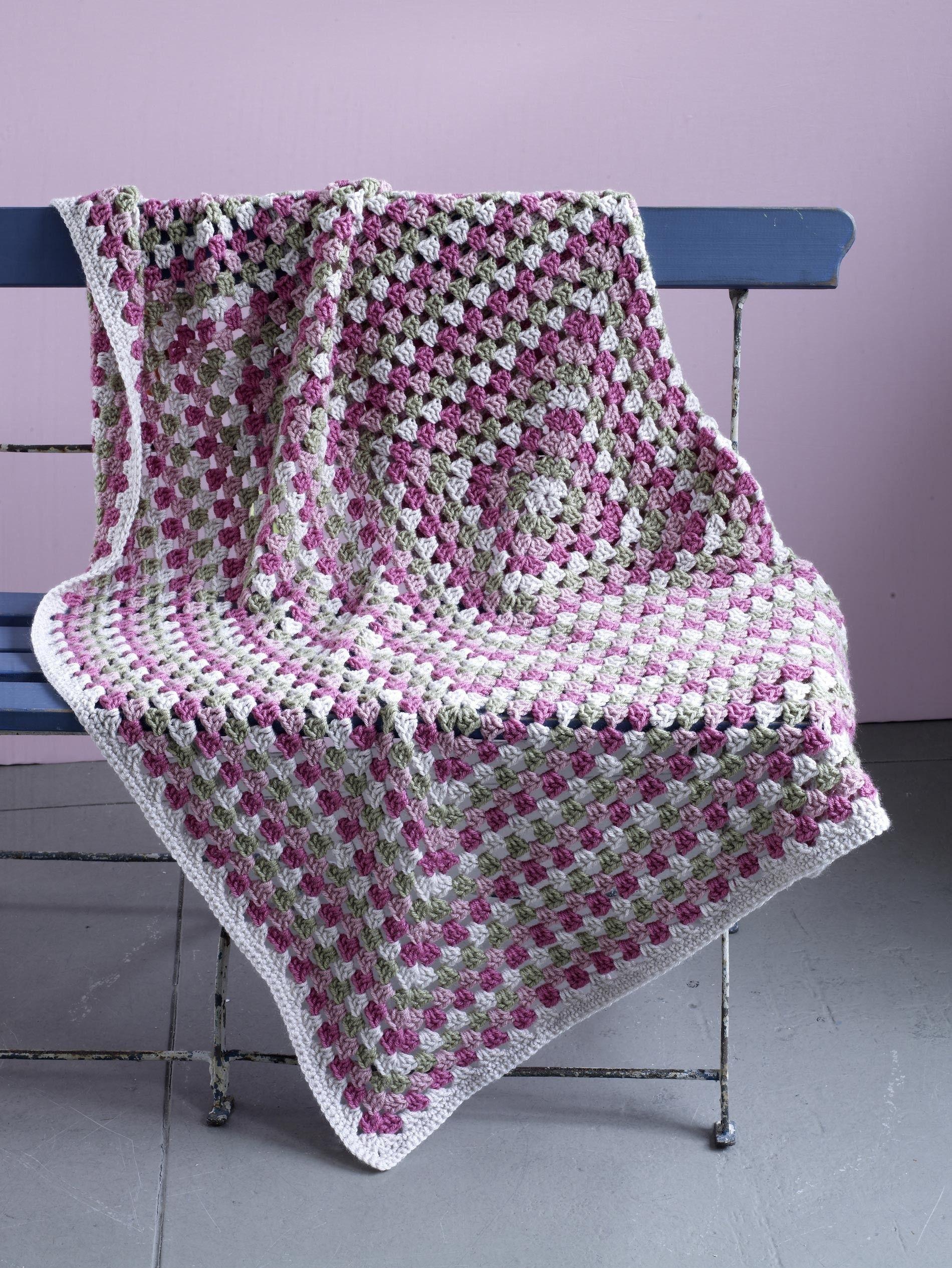 Estell Manor Afghan Pattern (Crochet) | blankets | Pinterest