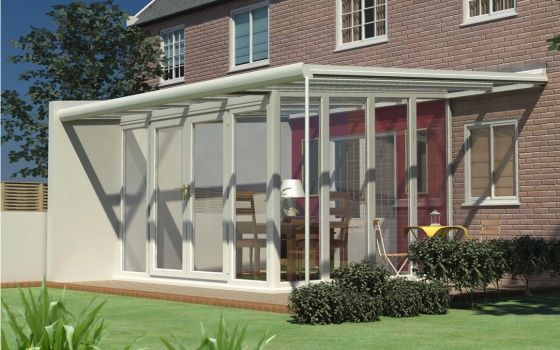 Nice Veranda Glazed Extensions Can Be Executed In A Variation Of Ways.