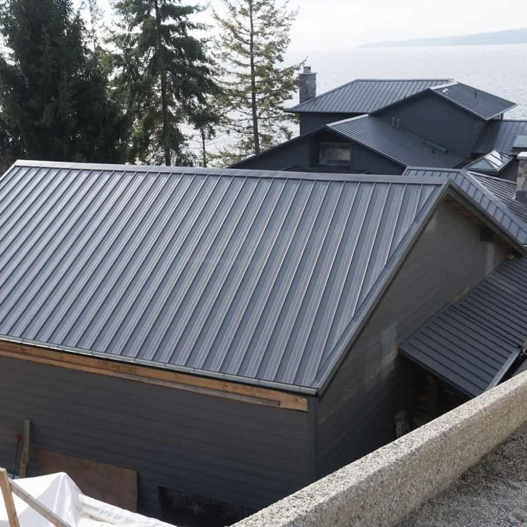 Interlock Standing Seam Roof Panels Saltwater Garage Metal Roof Panels Standing Seam Standing Seam Metal Roof