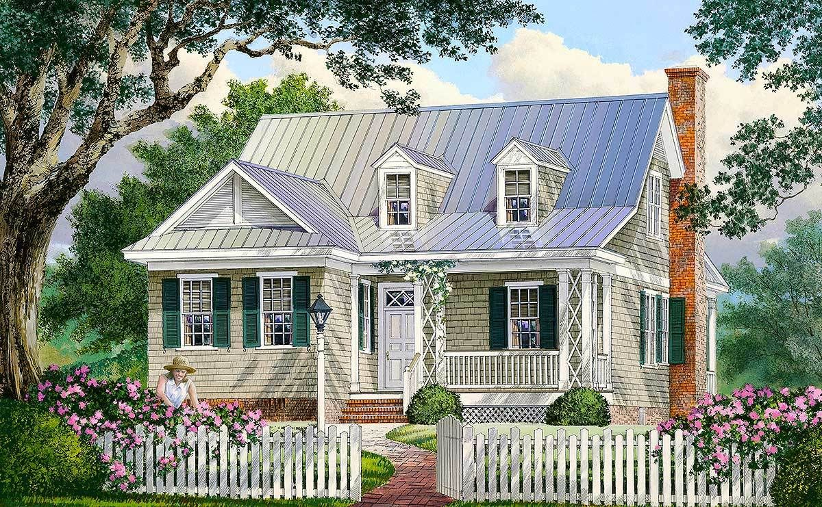 Plan 32423wp Adorable Cottage Home Plan Cottage House Plans Cottage Homes New England Cottage