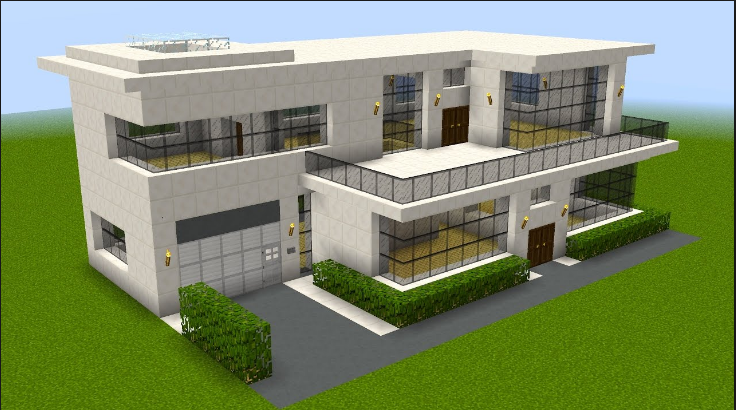 Big Minecraft House