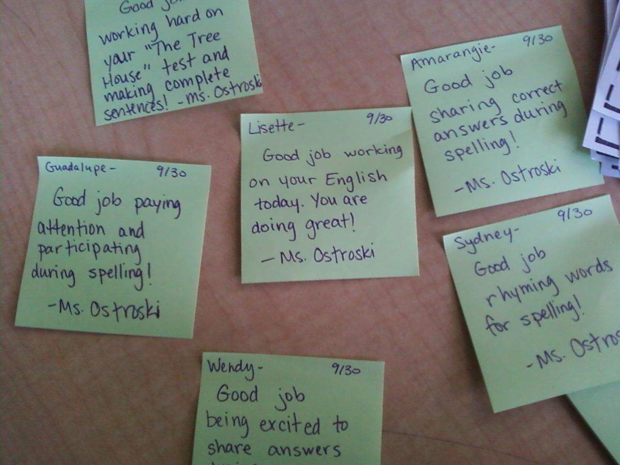 Notes Of Encouragement For Students: Student Encouragement Notes. A Quick Positive Note To