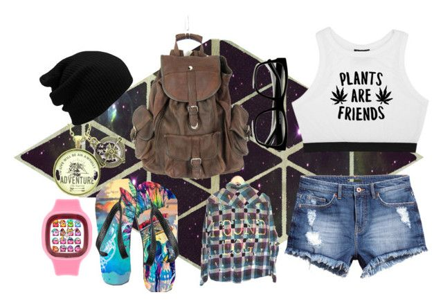 """""""That hipster girl"""" by julia-sal ❤ liked on Polyvore featuring H&M, ZeroUV and Minga"""