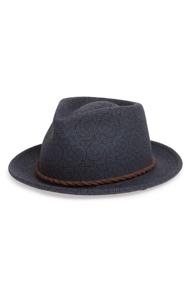f8267e72 Free shipping and returns on Goorin Brothers The Pacific Wool Fedora at  Nordstrom.com. <p>A rope of twisted suede rings the crown of a distinctive  wool ...