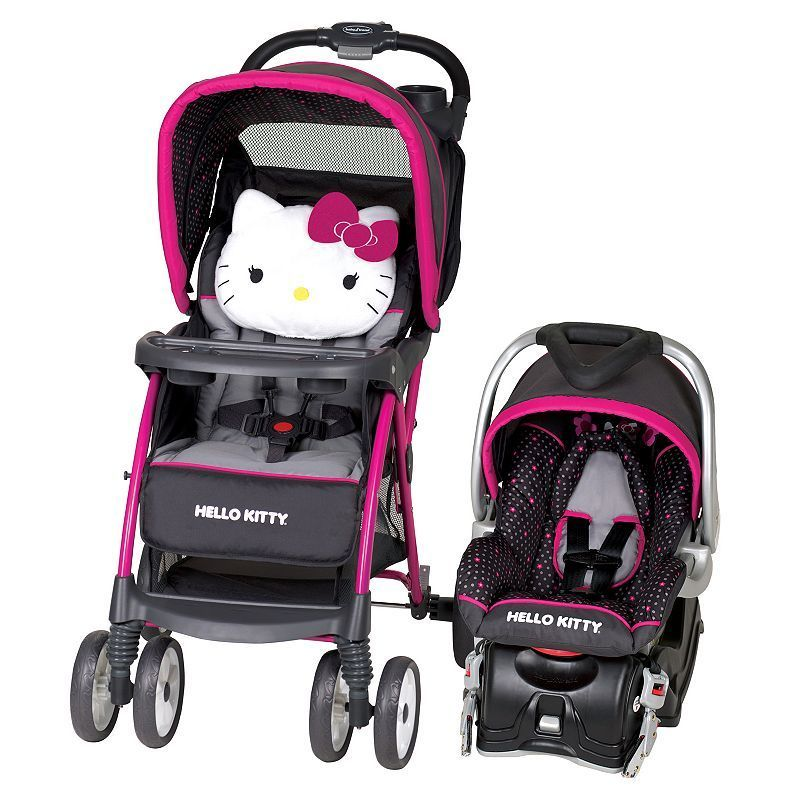 39450edae66e Hello Kitty® Venture Stroller Travel System by Baby Trend