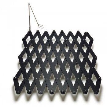 Thut scherenbett Buche schwarz lackiert mit Schwenkleuchte Coole - innovative matratze fur doppelbett erlaubt eine bewegungsfreiheit