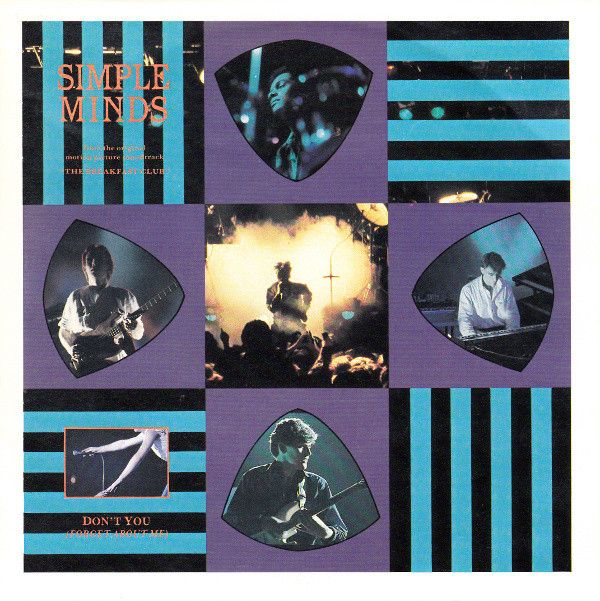 Simple Minds Don T You Forget About Me In 2020 Simple Minds Rare Vinyl Records Vintage Vinyl Records