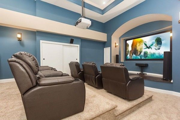 48 Awesome Basement Home Theaters That Deliver Movie Magic Inspiration Basement Home Theater Design Ideas Property