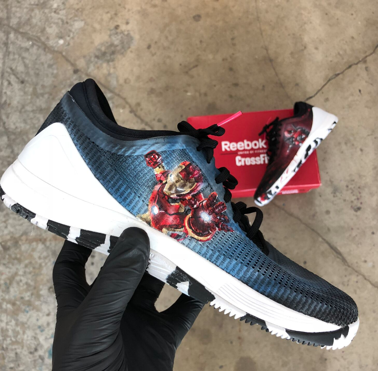 dc7f77084ab Iron Man and Deadpool Reebok Nano 8 s! in 2019