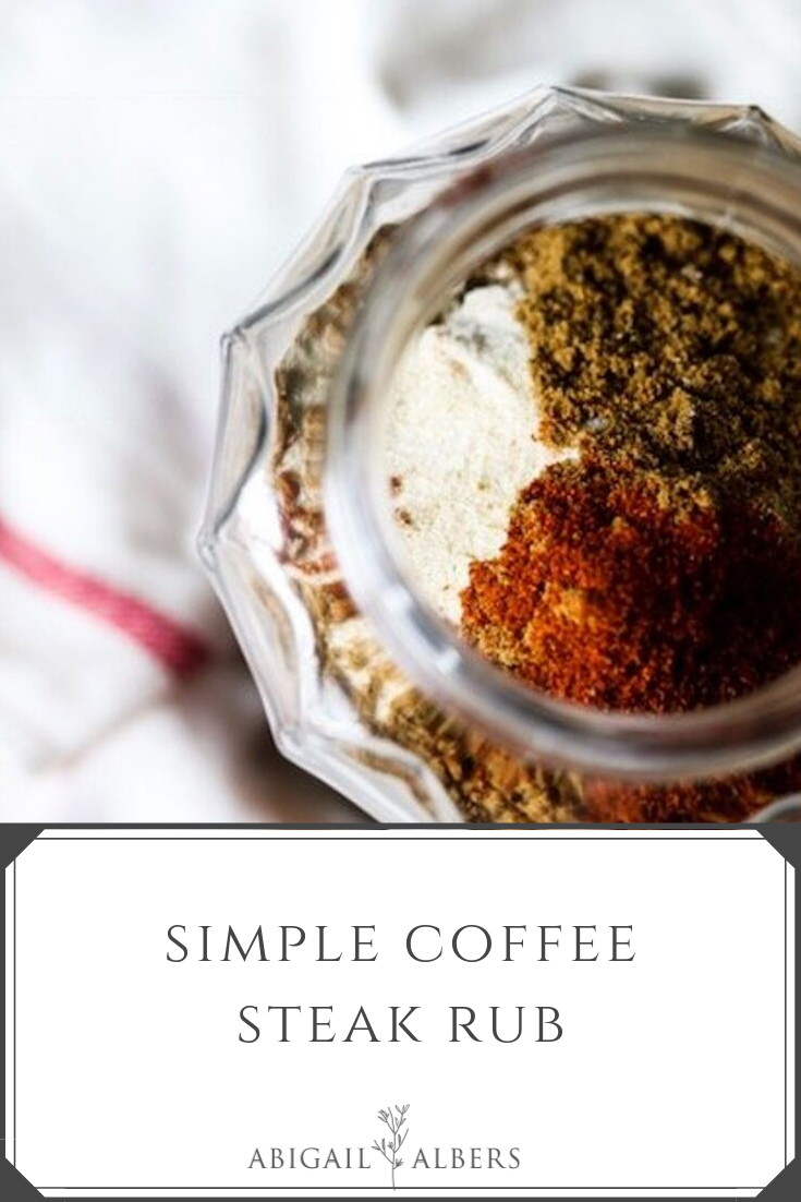 Do you need a good steak rub?  Look no further! Here is what you'll need: 1/3 cup of ground dark roast coffee ( I used pikes by starbucks),1/3 cup of chili powder,1/3 cup of paprika,1/2 cup of salt,2/3 cup of packed brown sugar,3 tbsp of sugar,2 tbsp of granulated garlic,1 tbsp cumin,1 tsp cayenne pepper #steakrub #steakseasoningrecipe #simplesteakrubingrediants #howtoseasonasteak #steakrubs Do you need a good steak rub?  Look no further! Here is what you'll need: 1/3 cup of ground dark roast co #steakrubs