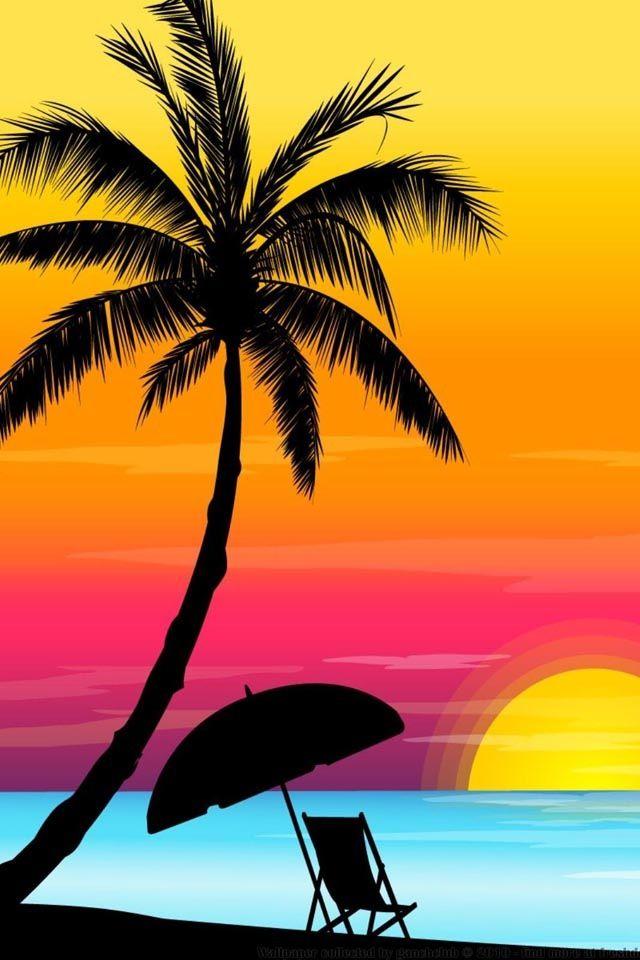 Tropical Summer Wallpaper : tropical, summer, wallpaper, Tropical, Summer, Wallpaper, Pinterest