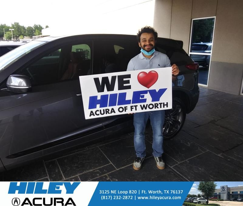 Congratulations Smit on your #Acura #RDX from Tony Gant at Hiley Acura! #NewCar