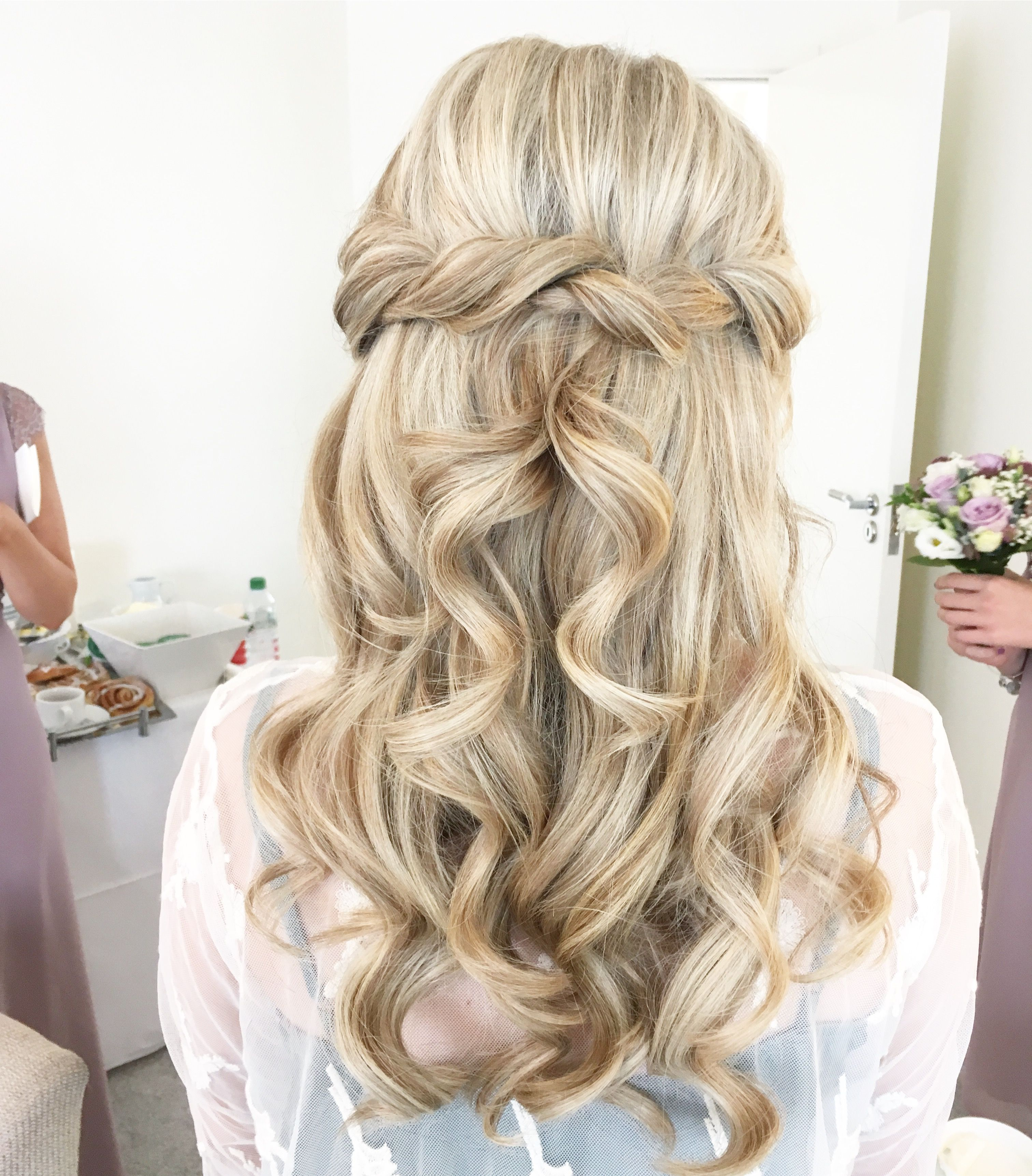 Wedding Hairstyle Knot Me Pretty: Half Up Pretty Bridal Hairstyle