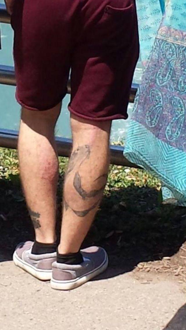 The tattoo itself