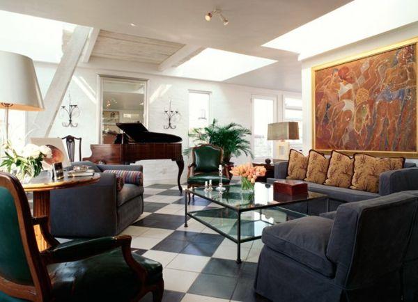 Elegant Erstaunliches Dachwohnung Interieur U2013 River View Penthouse #dachwohnung  #erstaunliches #interieur #penthouse #