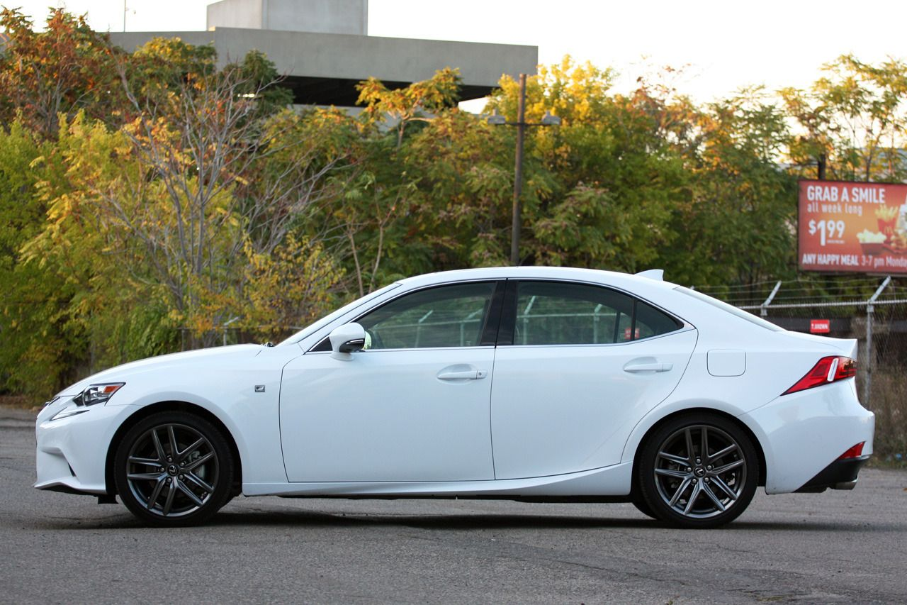 2014 Lexus IS 250 AWD F Sport left side Used lexus