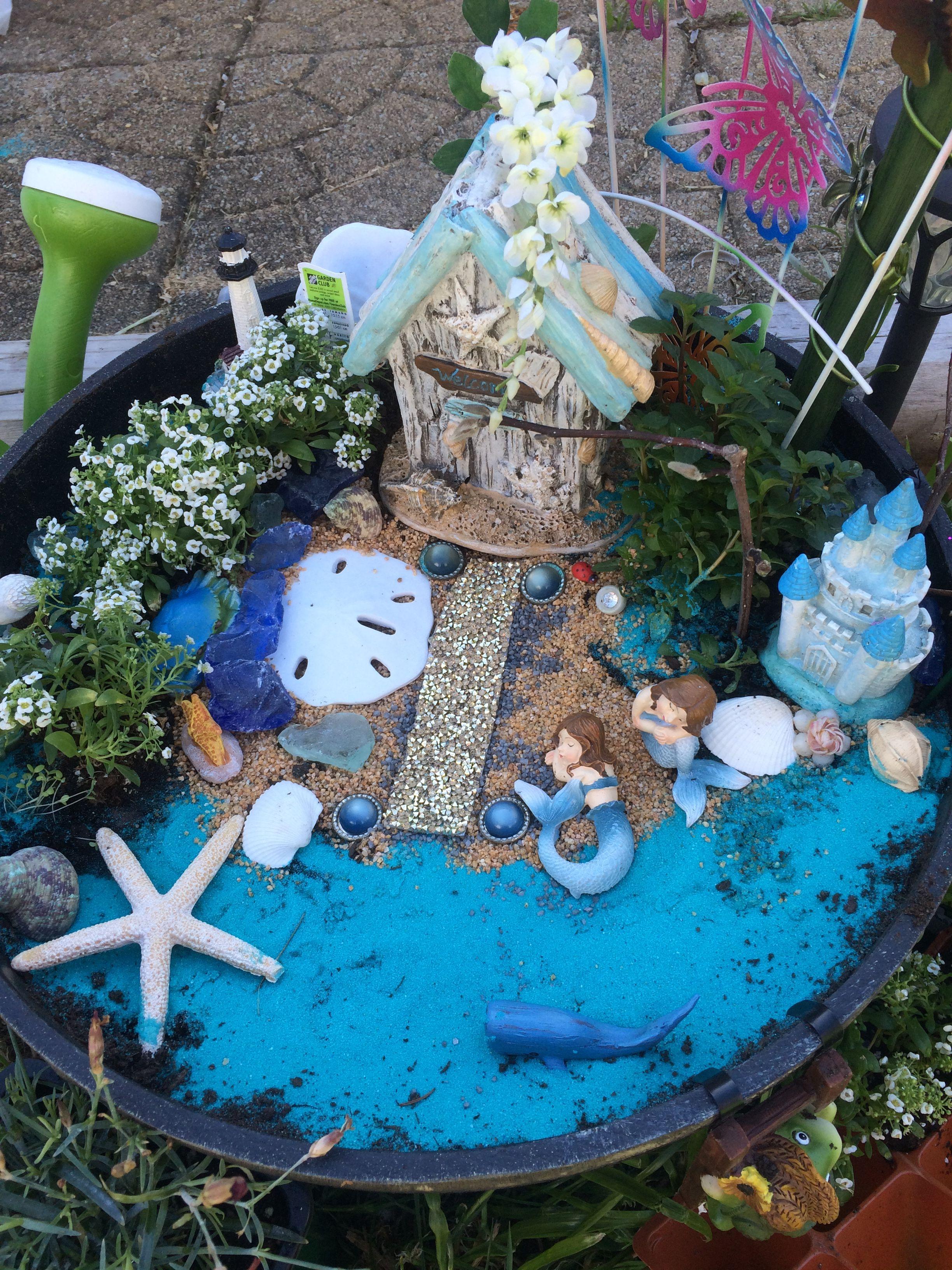 Image Result For Mermaid Fairy Gardens