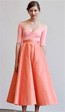 Isaac Mizrahi Peach Dress