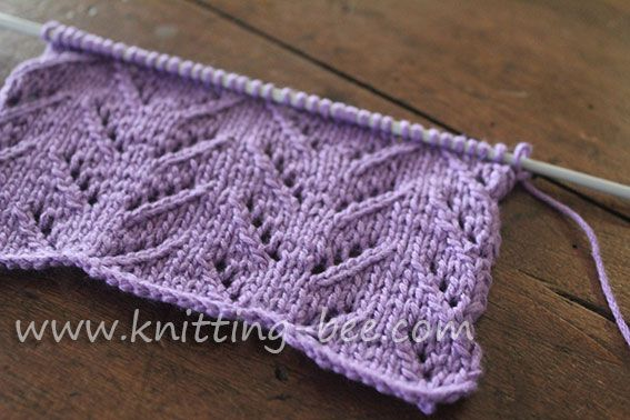Simple chevron lace knitting pattern 1 baby knits pinterest simple chevron lace knitting pattern 1 dt1010fo