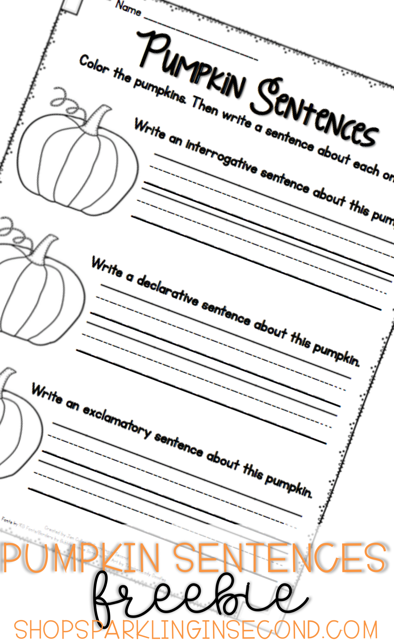 Pumpkin Types Of Sentences