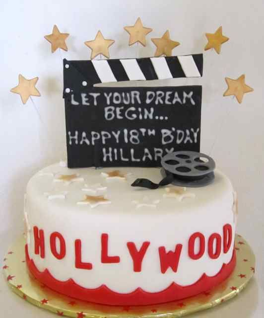 Vegan Gluten Free Hollywood Birthday Cake OMB Birthday Cakes