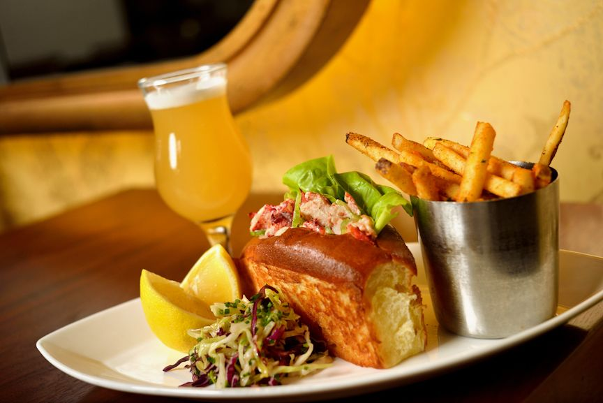 Lobster Roll toasted brioche, butter lettuce & herbed cole slaw