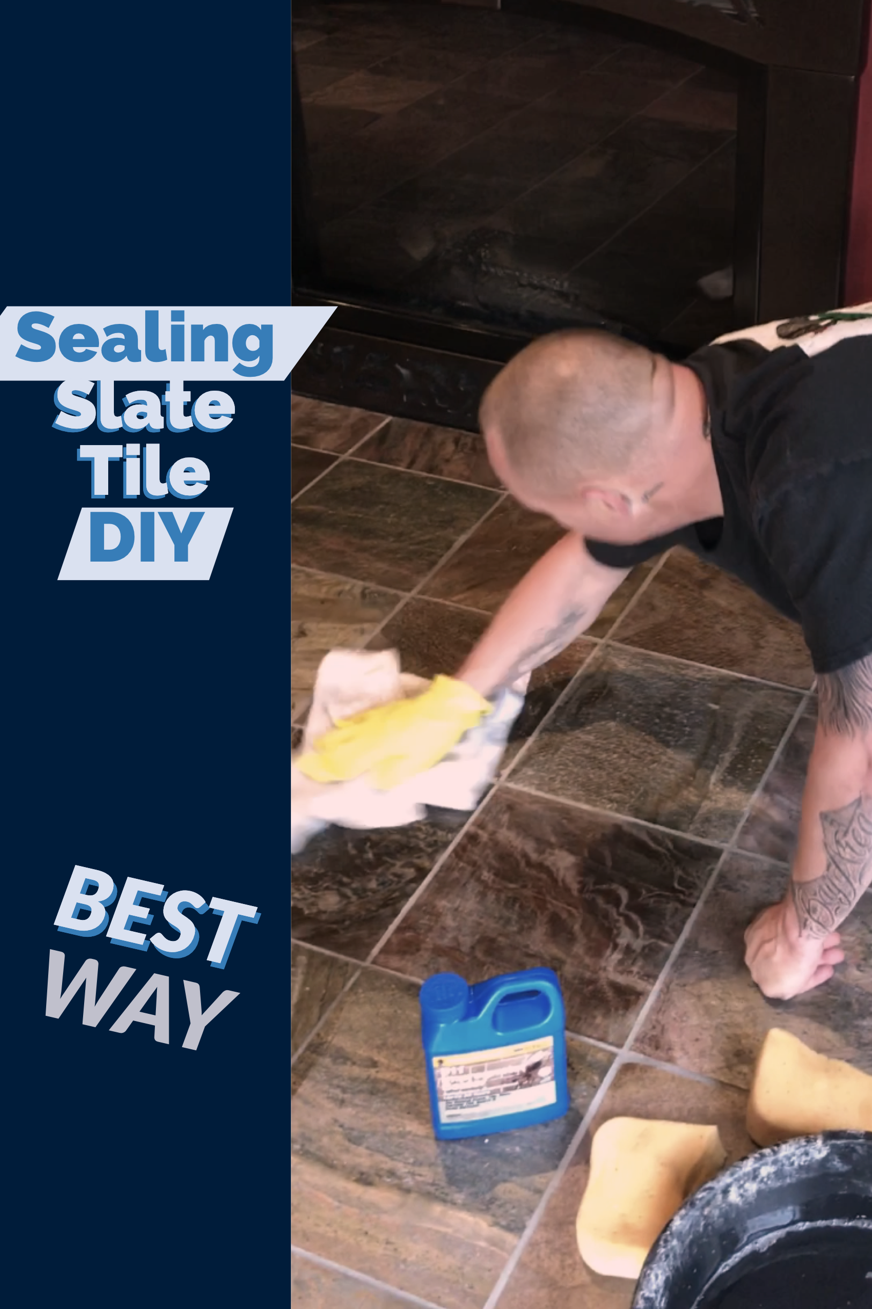 Diy Slate Tile Sealing Tips Best Way