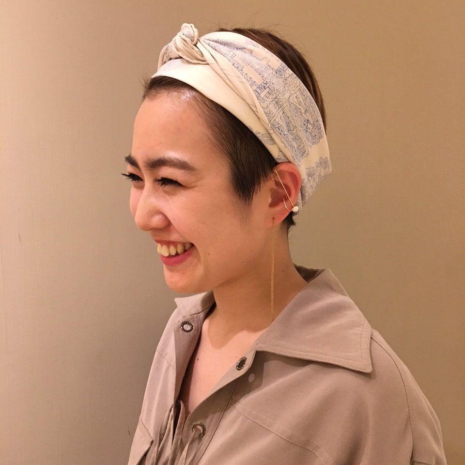 ショートヘアを大人モードで彩るパールイヤーカフ ジュエリー