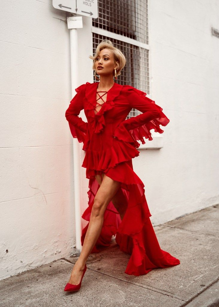 5 Valentine's Day Outfit Inspiration -   13 dress Red chic ideas