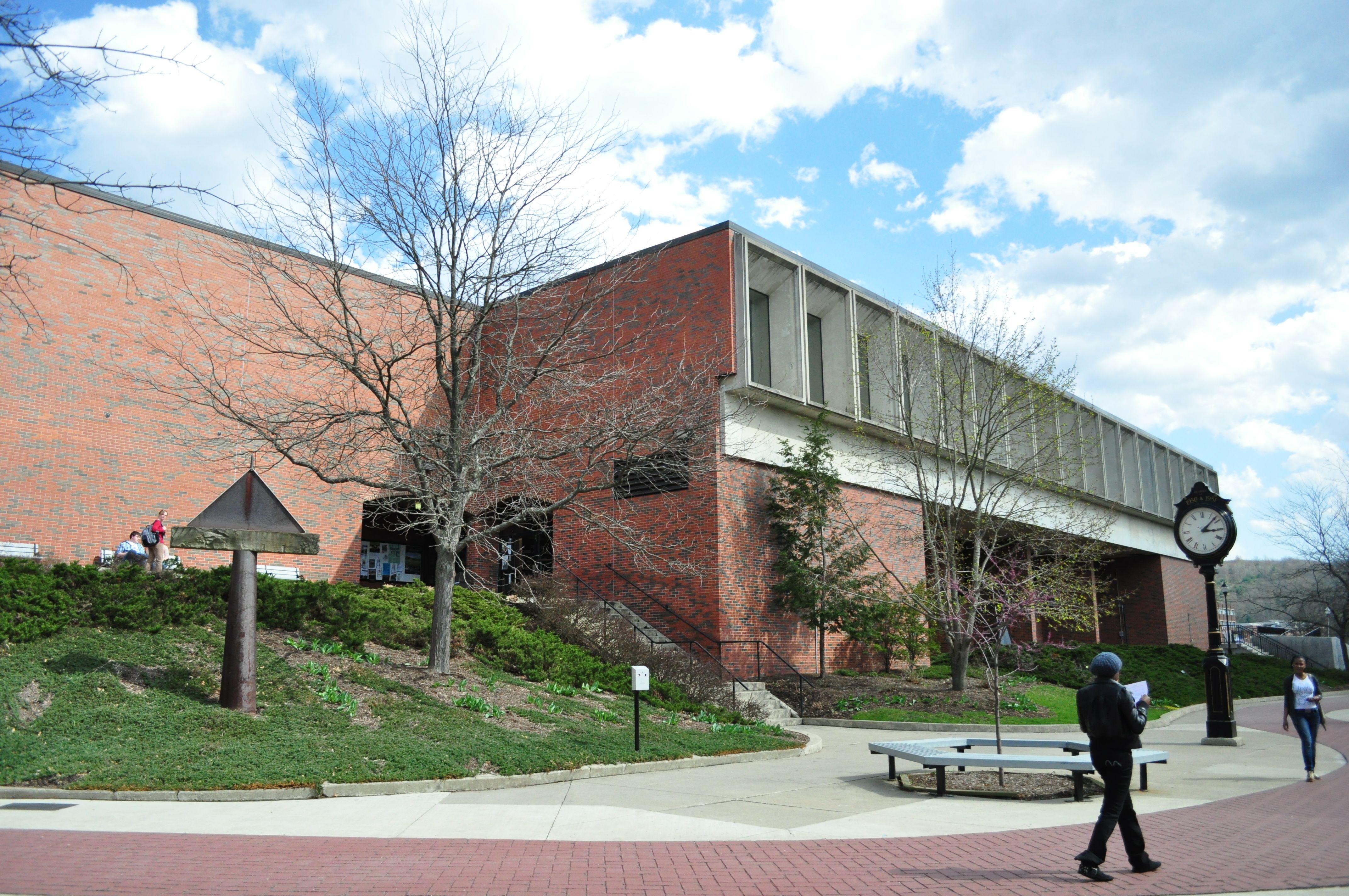 Manser Dining Hall Dining Hall Building Campus