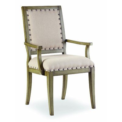 Hooker Furniture Sanctuary Arm Chair in Sage