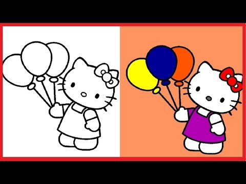 Hello Kitty Coloring Pages Hellokitty Colouring Book Colors Videos For Kids Art Free Gameplay Kitty Coloring Hello Kitty Coloring Hello Kitty Colouring Pages