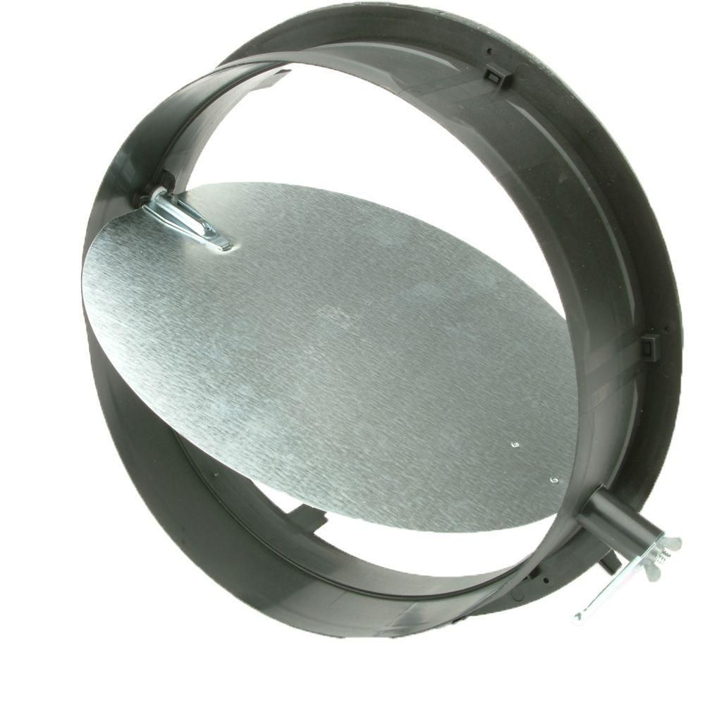 Speedi Collar 10 In Take Off Start Collar With Damper For Hvac Duct Work Connections Sc 10d Hvac Duct Duct Work Hvac