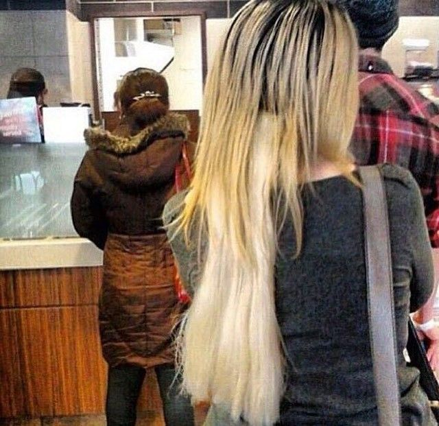 Pin By Hannah Chin On Just Funny Pinterest Hair Fails Funny