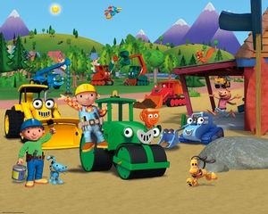 Bob The Builder Childrens Wallpaper Bob The Builder Friends