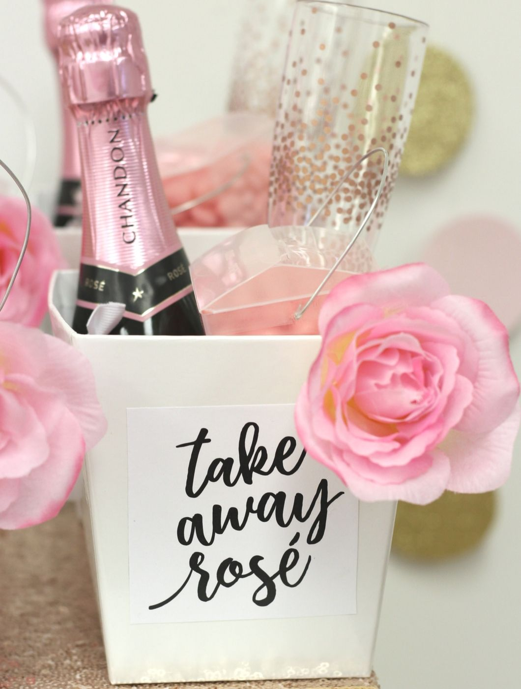 BEST PARTY FAVORS!! Yes Way Rosé Party Favors | Take Away Rosé ...