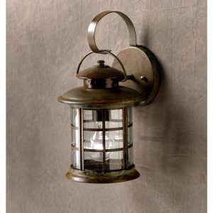 Rustic Wall Sconce With Switch