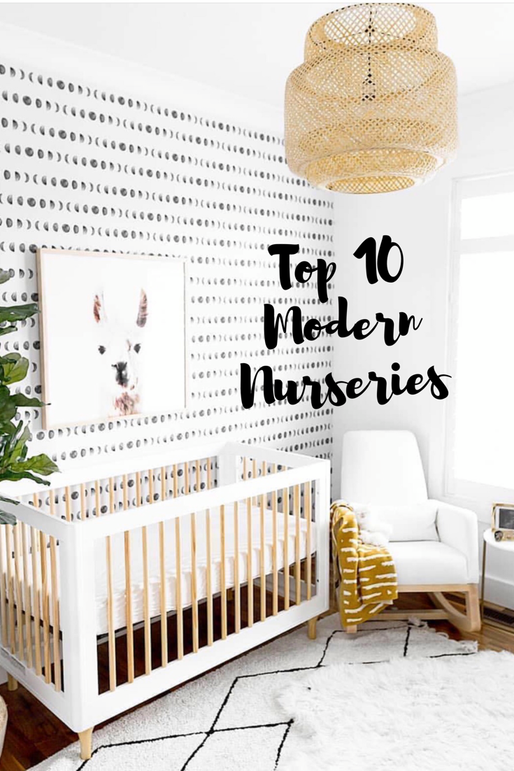 The 21 Best Modern Nursery Inspirations Chaylor Mads Nursery Wallpaper Boy Nursery Modern Nursery Inspiration