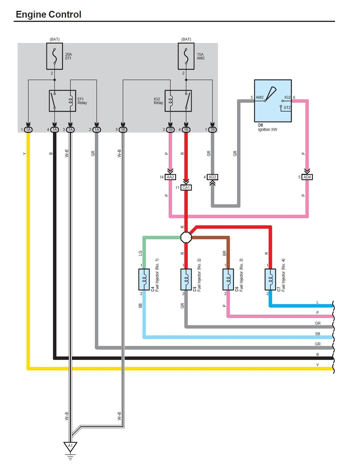 2007 Toyota Yaris Engine Wiring Diagram | My Car Parts
