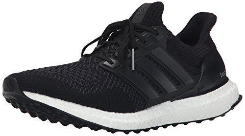 adidas Performance Men\u0027s Ultra Boost M Running Shoe, Black/Black/Solar  Yellow,