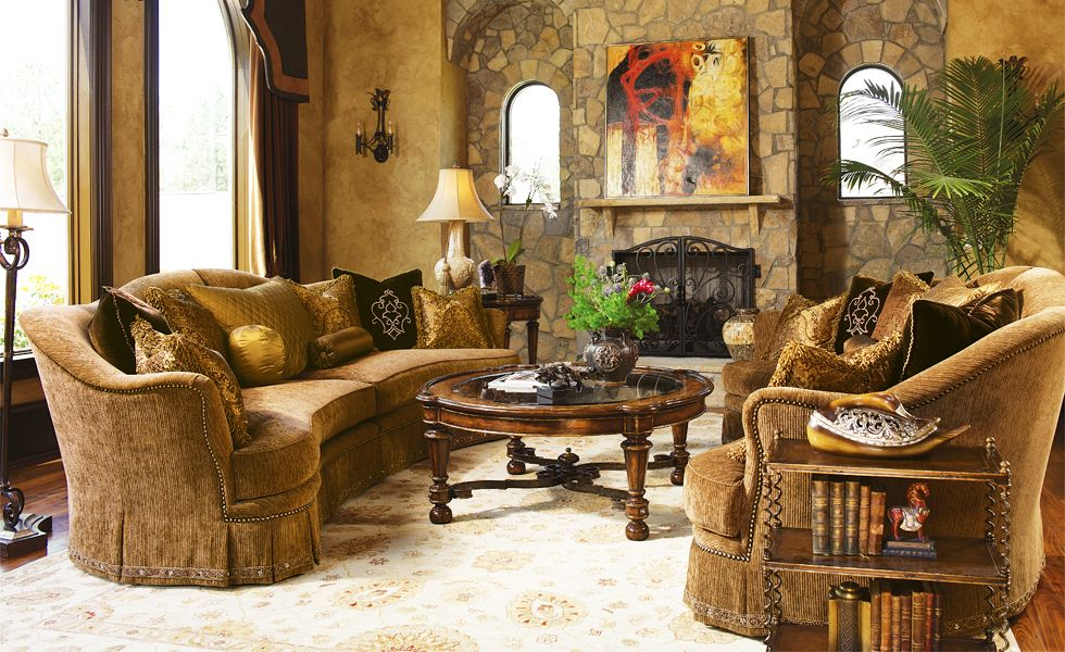 Marge Carson   Living Room @ Marc Pridmore Designs Orange County Furniture  Store Bedroom Furniture By