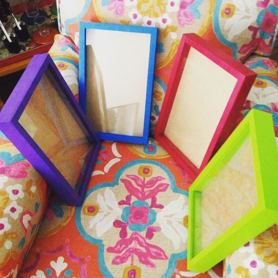 Molduras coloridas by Arte NK Colorful frames by Arte NK