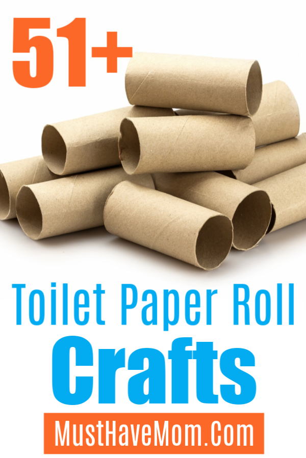 Over 50 Cool Toilet Paper Roll Crafts You Can Make With Empty Toilet Paper Tubes Fun Toilet Paper Toilet Paper Roll Paper Roll Crafts Toilet Paper Roll Crafts