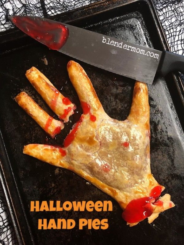 Halloween Hand Pies Recipe + Giveaway - A Blender Mom - Easy Halloween Hand Pies Recipe + Giveaway