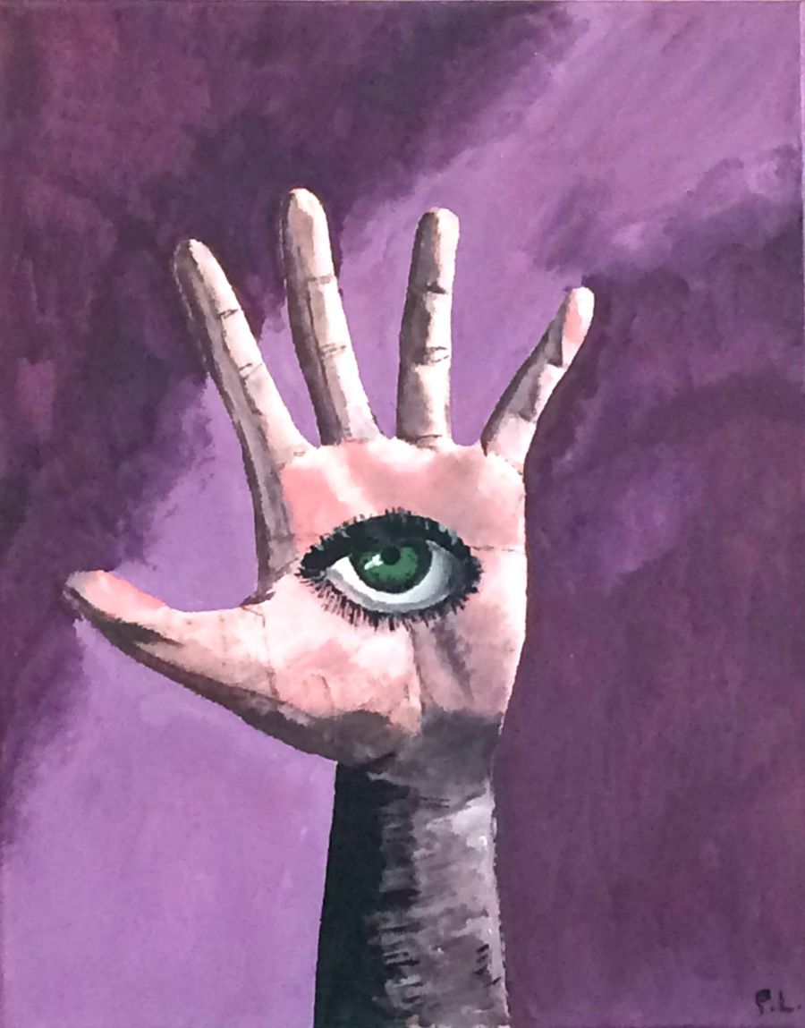 Patrick Lee Artist - I, Hand